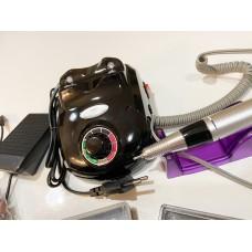 Аппарат для маникюра и педикюра c фрезами (черный)