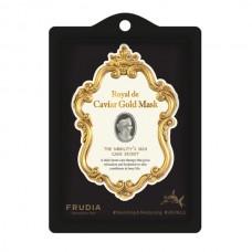Frudia тканевая маска с икрой и экстрактом золота
