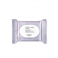 Kiko салфетки Pure Clean Scrub&Peel