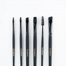 Zara Brows комплект кистей для оформления бровей Korloff Noir